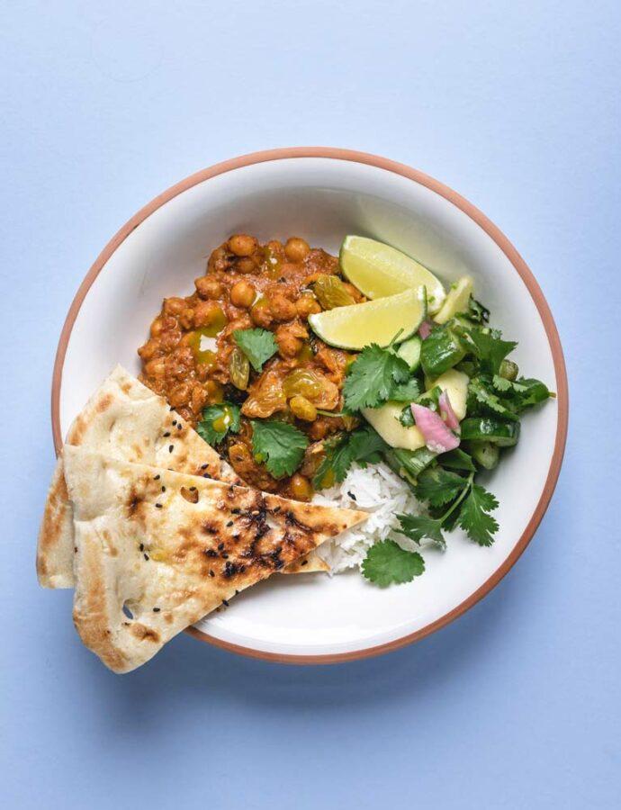 Tilbehør til indisk curry