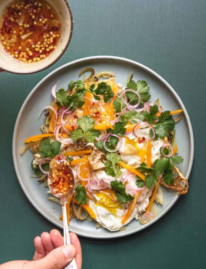 Thailandsk æggesalat