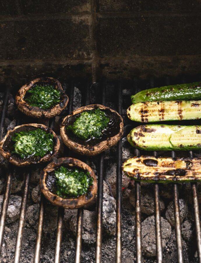 Vegetarisk på grillen