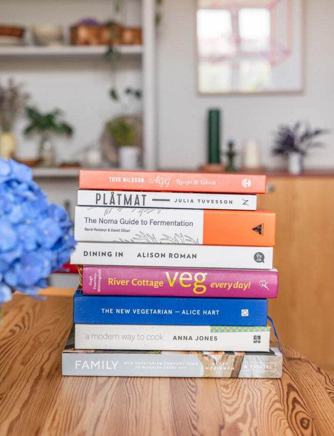 Vegetariske kogebøger – mine favoritter