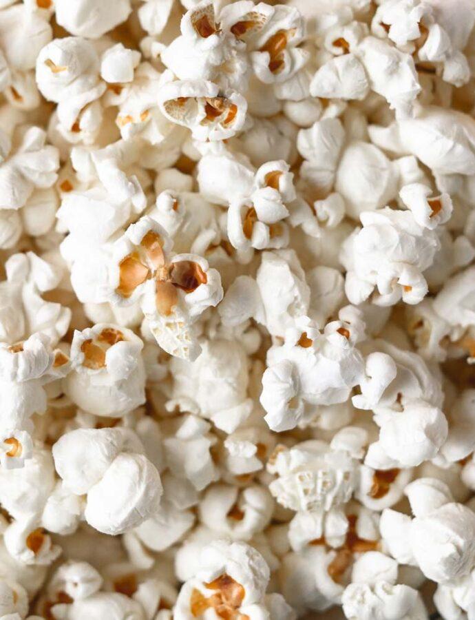 Perfekte popcorn i gryde – hvér gang