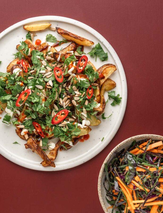 Vietnamesisk inspirerede loaded fries