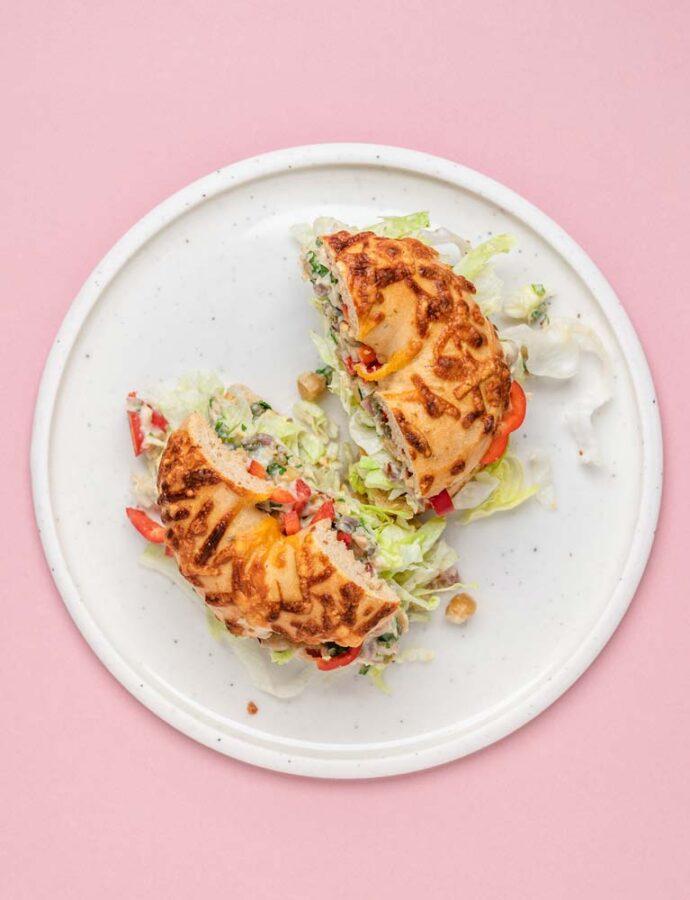 Kikærtesalat til madpakken