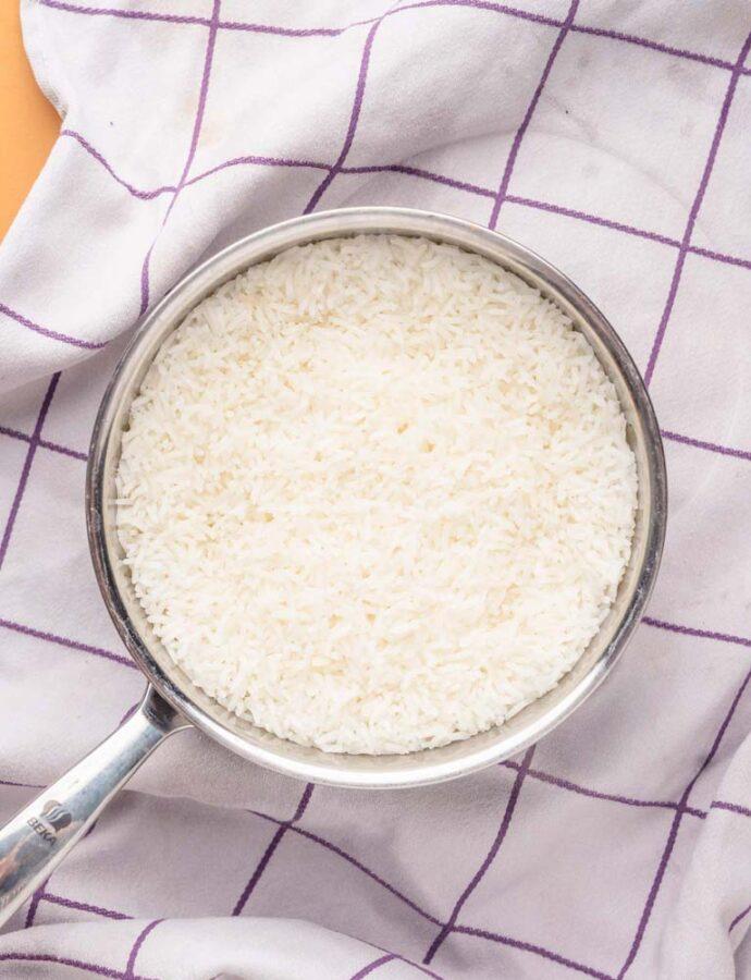 Perfekt kogte ris – Sådan koger du basmati- og jasminris